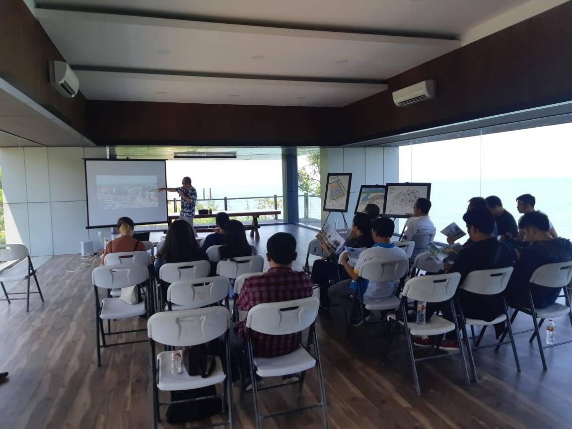 Kunjungan Mahasiswa Untar Magister Teknik Perencanaan Wilayah & Kota